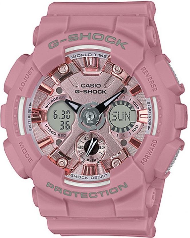 Женские часы Casio G-Shock GMA-S120DP-4AER