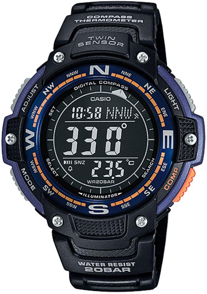 Оригинальные часы Casio Pro-trek SGW-100-2BER