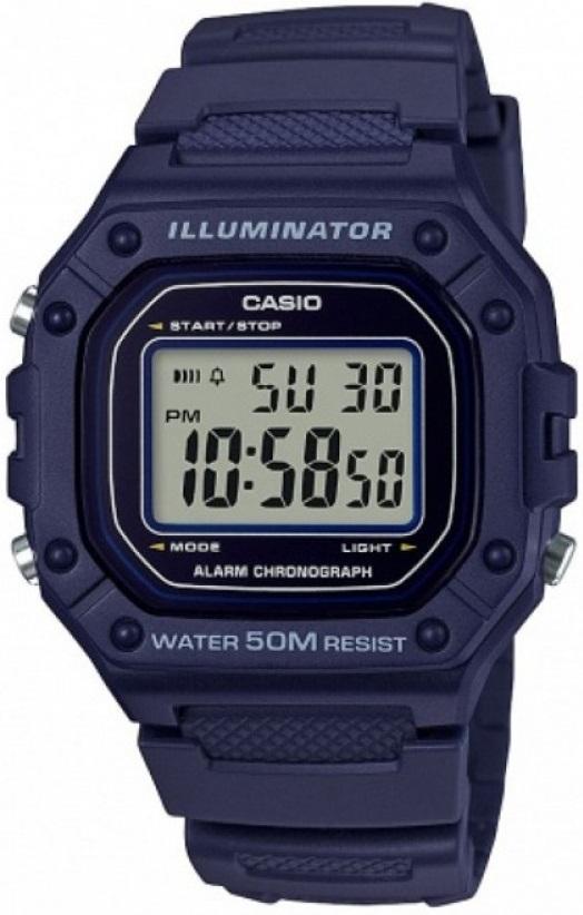 Мужские часы Casio Standard W-218H-2AVEF