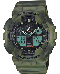 Мужские часы Casio G-Shock GA-100MM-3AER